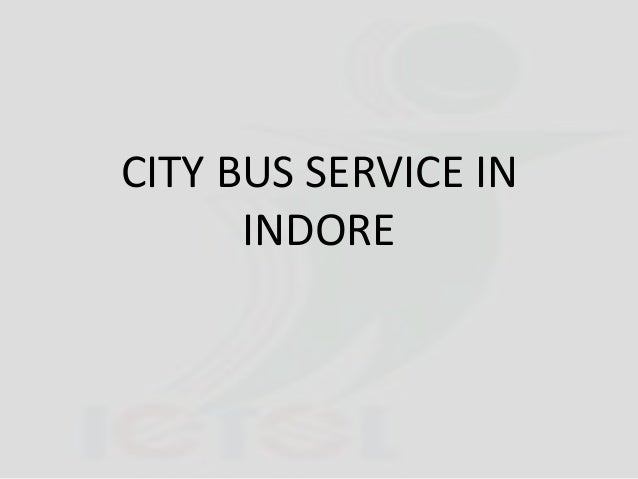 CITY BUS SERVICE IN INDORE