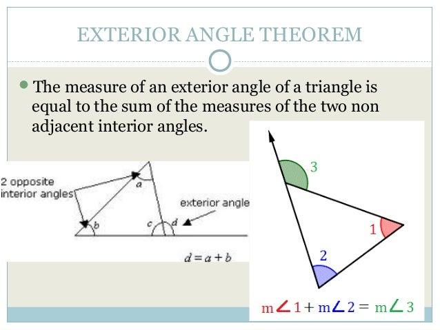 4 1 Apply Triangle Sum Properties