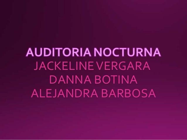 JACKELINE VERGARA DANNA BOTINA ALEJANDRA BARBOSA
