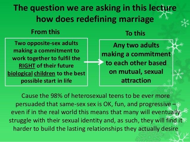 Heterosexual marriage means images