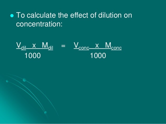 How to calculate dilutive effect of stock options