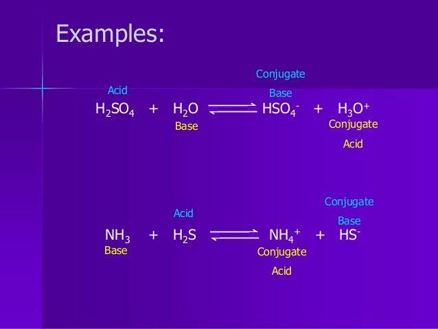 what is the conjugate base of hso4