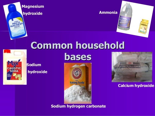 What is the common name for magnesium hydroxide?