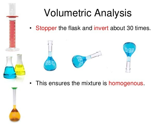 volumetric analysis Volumetric analysis a quantitative technique used to analyse solutions using volumes of solutions burette calibrated apparatus with a delivery tap at the base, used to deliver up to 50 ml of solution.