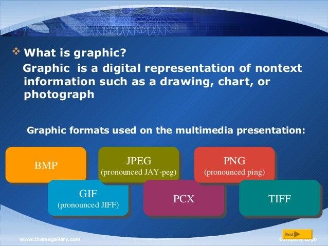 Definition of multimedia Slide 3
