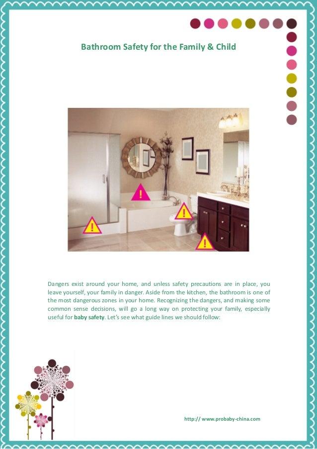 Bathroom safety for