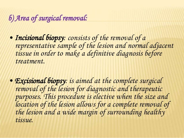 TYPES OF BIOPSY  Surgical biopsy- Incisional Biopsy ,Excisional Biopsy and Punch Biopsy.  Fine Needle Aspiration Cytolog...