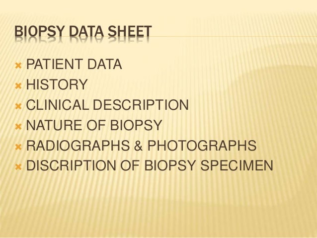 CLASSIFICATION PRE BIOPSY ARTIFACTS: They are introduced prior to the collection of the tissue BIOPSY ARTIFACTS Injecti...