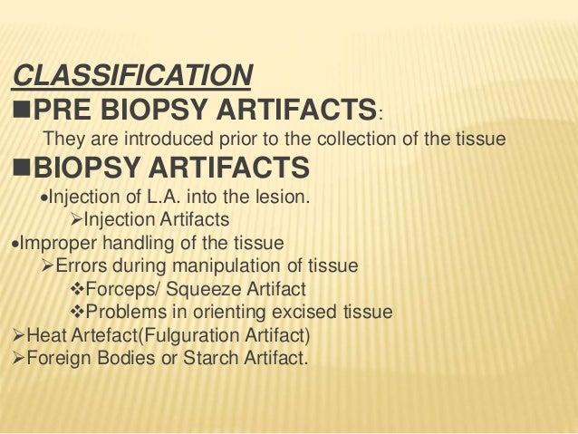 FORCEPS ARTIFACT CRUSH ARTIFACT SPLIT ARTIFACT