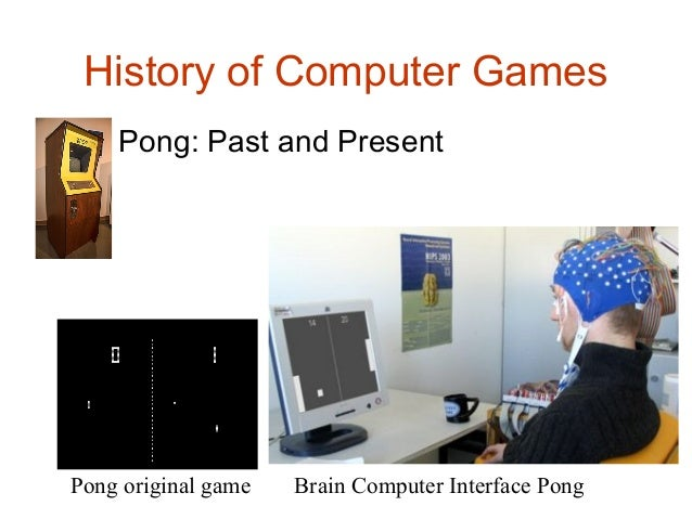 an introduction to the history of playing computer games The use of computer and video games for  section 1 introduction and  p research articles based on pre- and post-testing of users playing computer games designed.