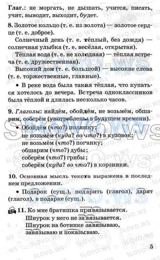 Гдз учебник русский язык 4 класс т г рамзаева в 2 частях 2018 год ст 91 номер