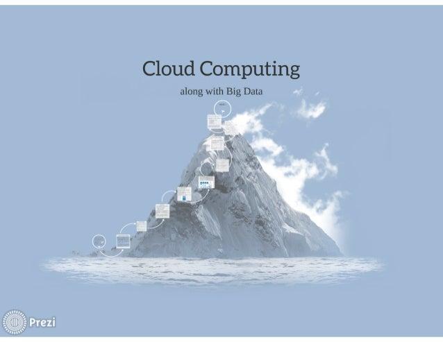 Cloud Computing  along with Big Data A' ,