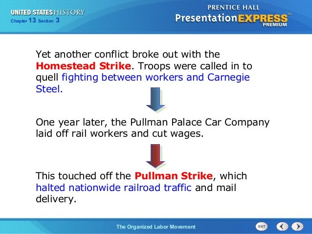 us history ch 4 section 3 notes rh slideshare net Labor Movement in America Labor Movement Quotes