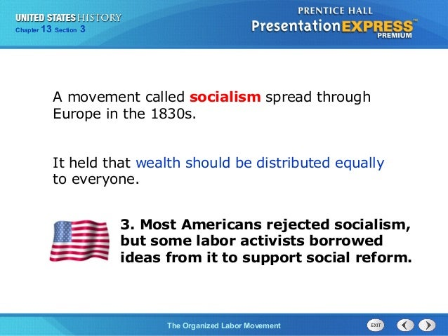 us history ch 4 section 3 notes rh slideshare net USA Labor Movement Labor Movement Cartoons