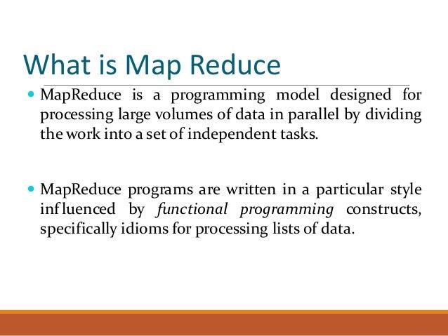 MapReduce basic Slide 2
