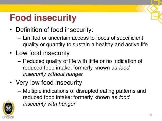 4 world hunger for Cuisine meaning