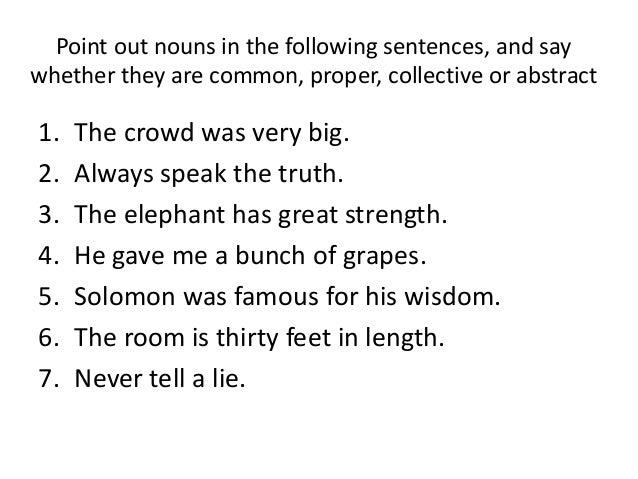 English Quiz Parts Of Speech Noun Manu Melwin Joy