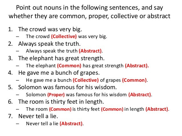 Sentences For Nouns - Laptuoso
