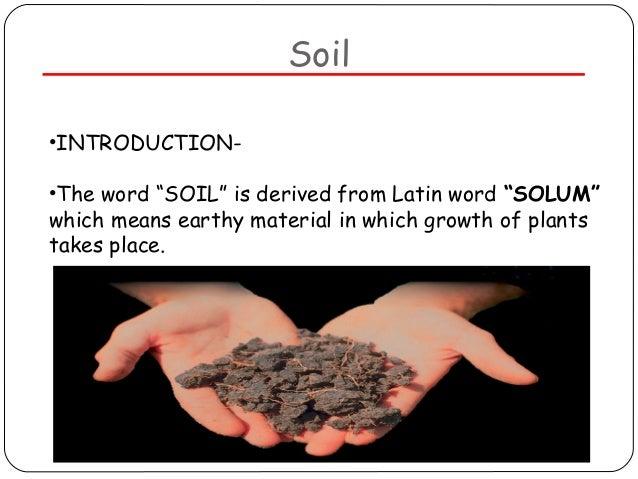Soil pollution for Soil meaning in urdu