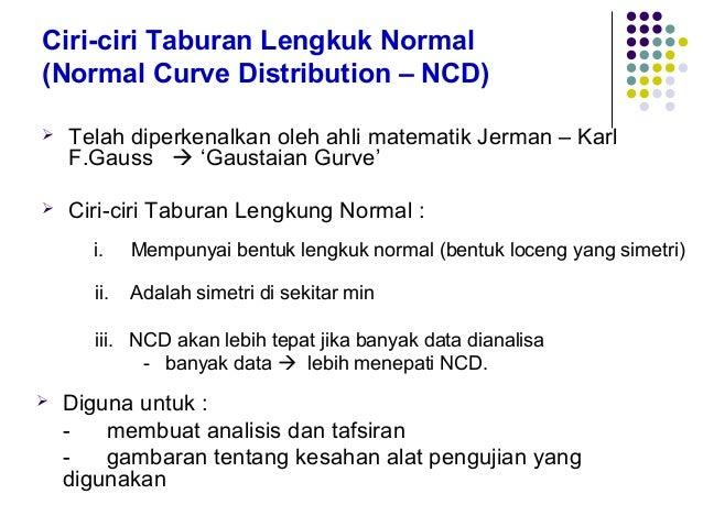 Taburan Lengkung Normal