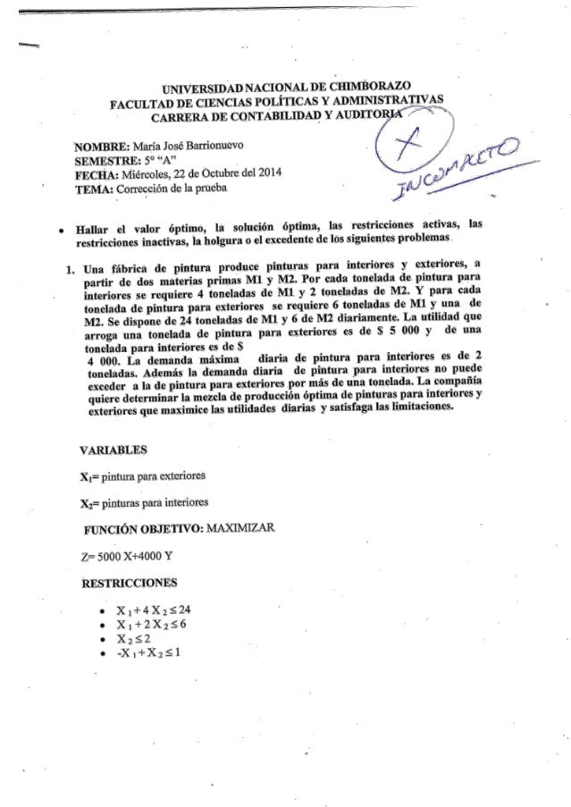 UNWERSIDAD NACIONAL DE CHINIÎBORAZO FACULTAD DE CIENCIAS POLÎTICAS Y ADMJIYISTRAIÎIVAS CARRIERA DE CONTABILIDAD Y AUDITO A...