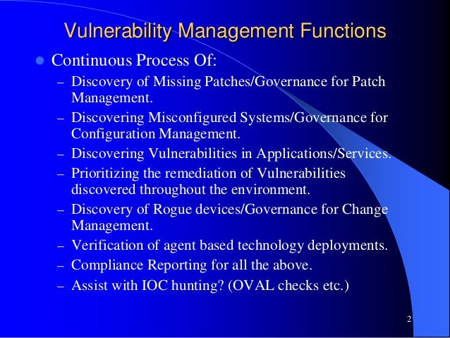 implementing vulnerability management derek milroy 2