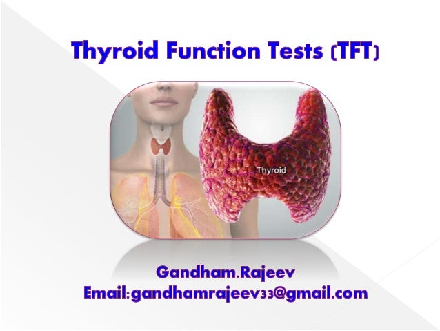 Thyroid Function Tests Tft