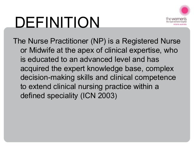 a history and definition of nursing first clinical specialty