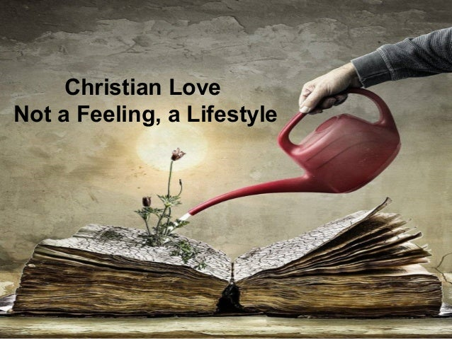 One christian love