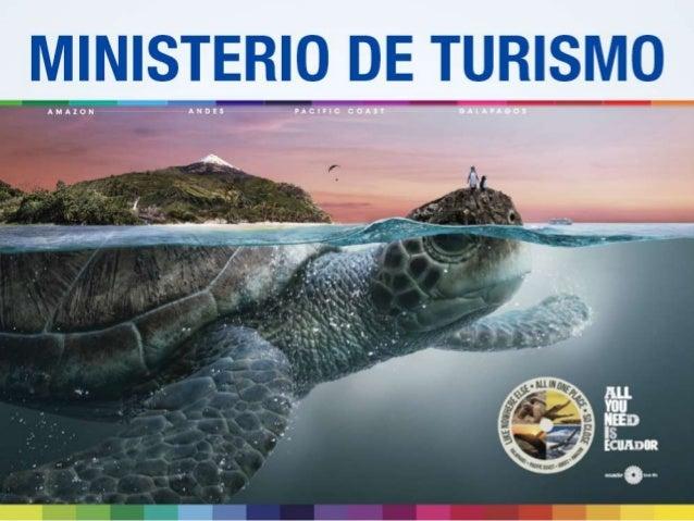 Ec418 ministerio de turismo for Ministerio del turismo