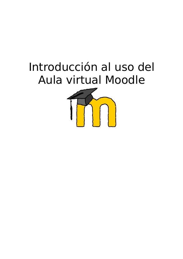 Introducción al uso del Aula virtual Moodle
