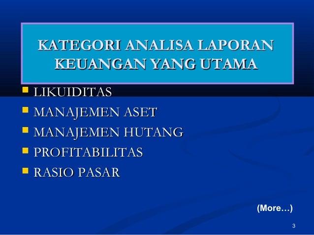 Laporan analisis pasar forex