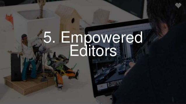 Control in the hands of editors Harnessing the power of Sitecore's editorial tools to empower the content team.  Create o...