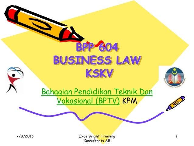 4  bpp 604 business law edited 112 slides my april 18 2015