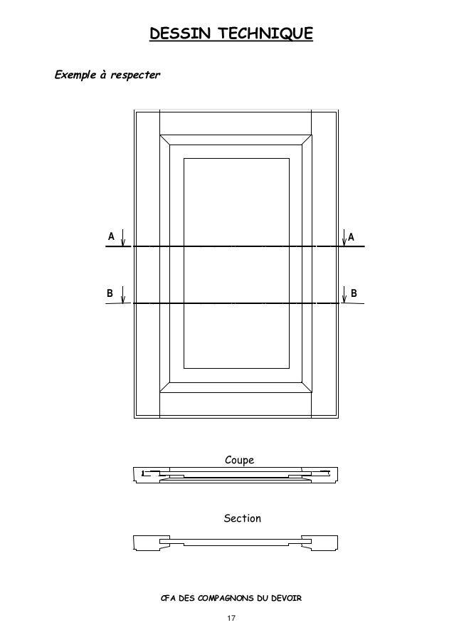 4 dessin technique - Coupe et section dessin technique ...