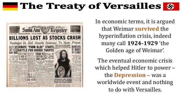 What Are the Major Effects of the Treaty of Versailles?