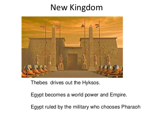 egypt new kingdom egypt from the Historical overview learn with flashcards, games, and more — for free.