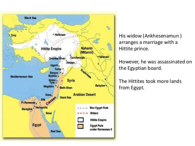 New Kingdom Egypt - Map of egypt during the new kingdom