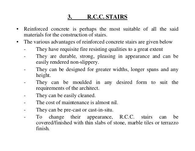 R.C.C. STAIRS