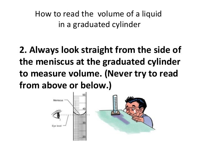 Using a Graduated Cylinder