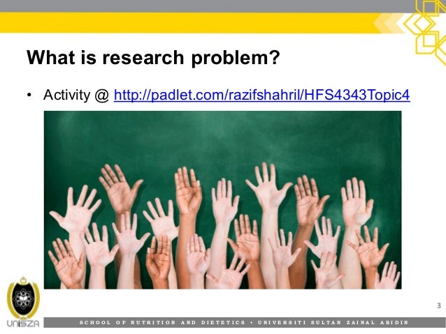 formulating a research problem Formulating suitable research questions  management research issues in  relation to a social problem: 'gaps between official versions of reality and the  facts.