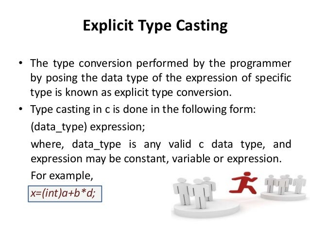 Type conversion operator in c