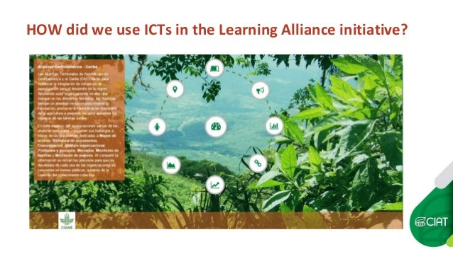 HOW did we use ICTs in the Learning Alliance initiative?