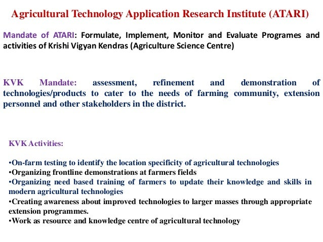 agriculture examples
