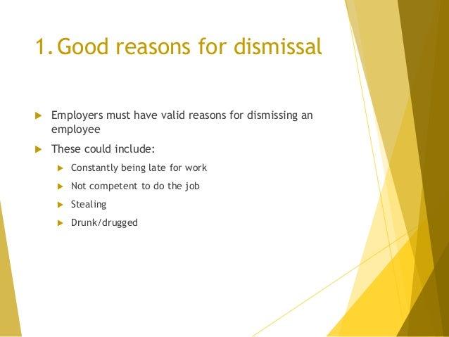 Procedural Fairness; 6.