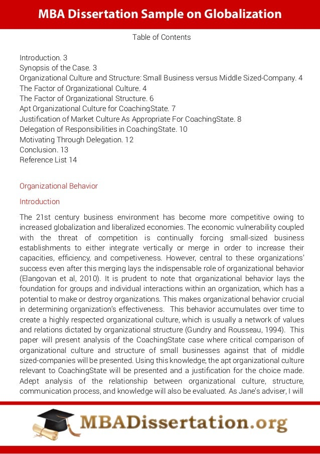 Phd thesis organizational behaviour