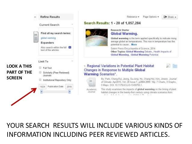 what is peer reviewed articles
