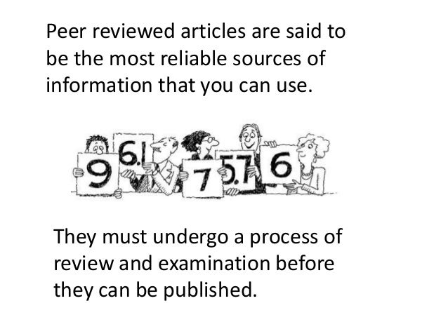 peer review article One of the things you will be most expected to do in any college paper is to cite your references correctly, while adhering to mla style guidelines the mla is the modern language.