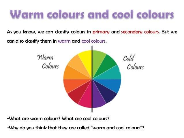 4 Cool Colours And Warm