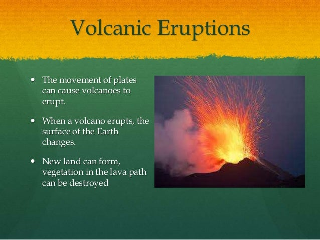 Which Natural Disaster Can Change Soil On The Earth S Surface